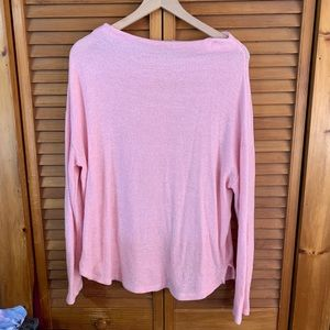 Old Navy Soft Pink Scoopneck Sweater